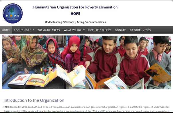 Humanitarian Organization for Poverty Elimination