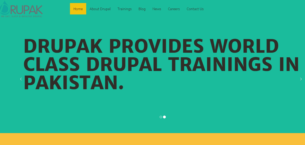 DRUPAK – Premier Drupal Development and Training Company