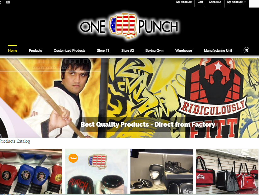 One Punch Sports Store & Gym – Philadelphia USA