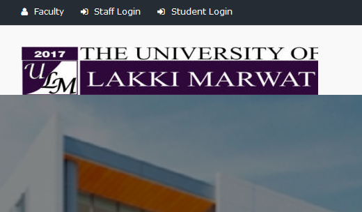 University of Lakki Marwat, Khyber Pakhtunkhwa Official Website