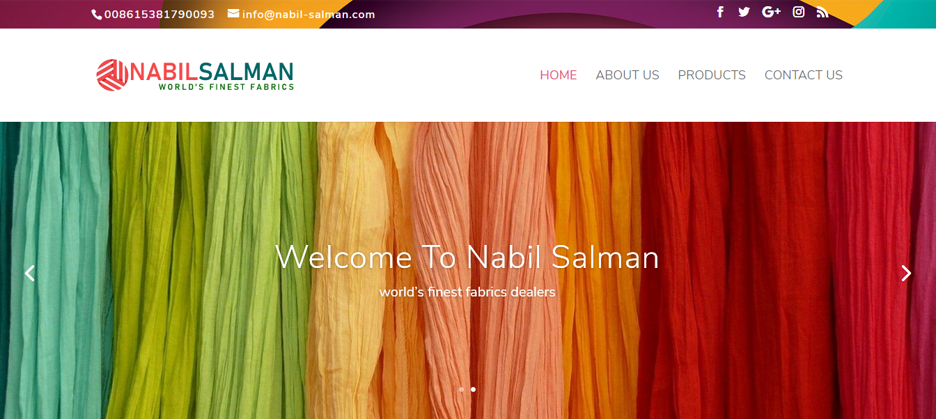 New website launched for Nabil Salman