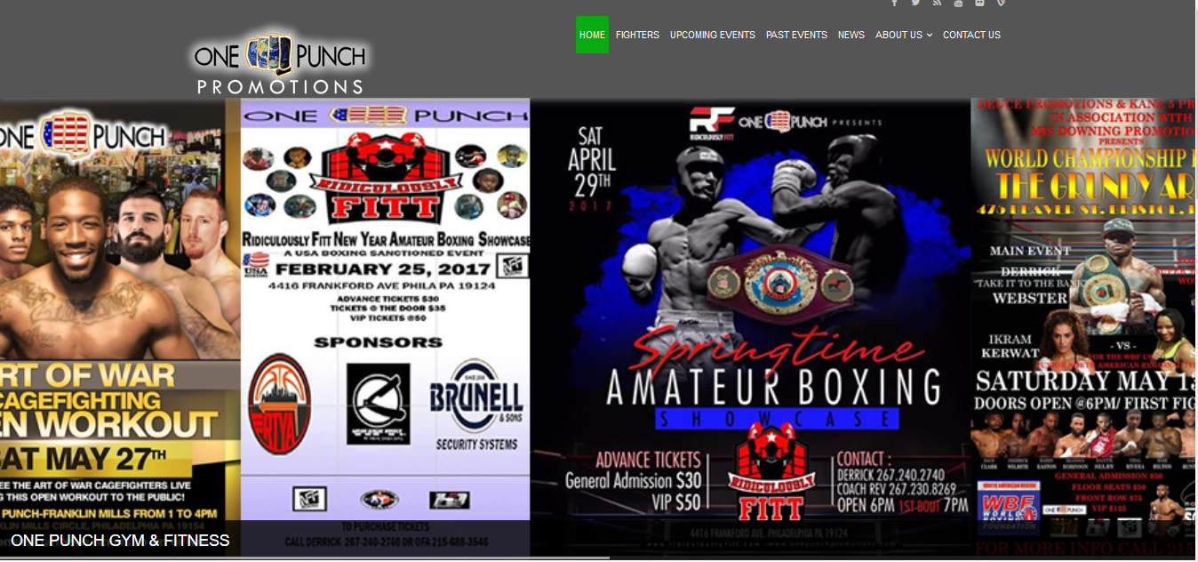 One Punch Promotions, USA