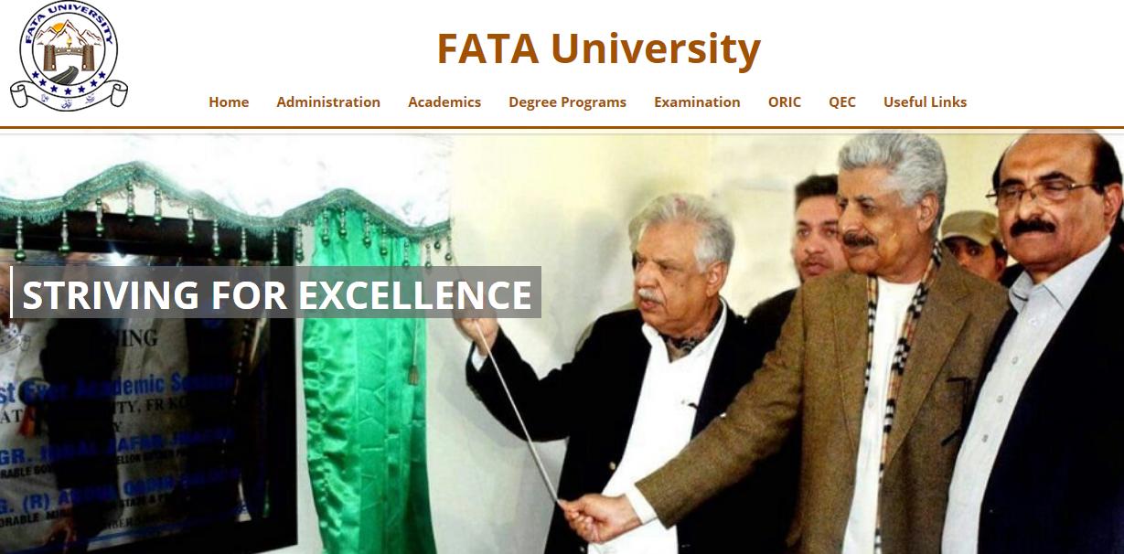 FATA University, Dara Adam Khel, FR Kohat