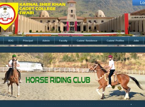 Official Website of Karnal Sher Khan Cadet College Swabi, Khyber Pakhtunkhwa hosted with MADAAR Technologies, Premier Hosting Service Provider in KP