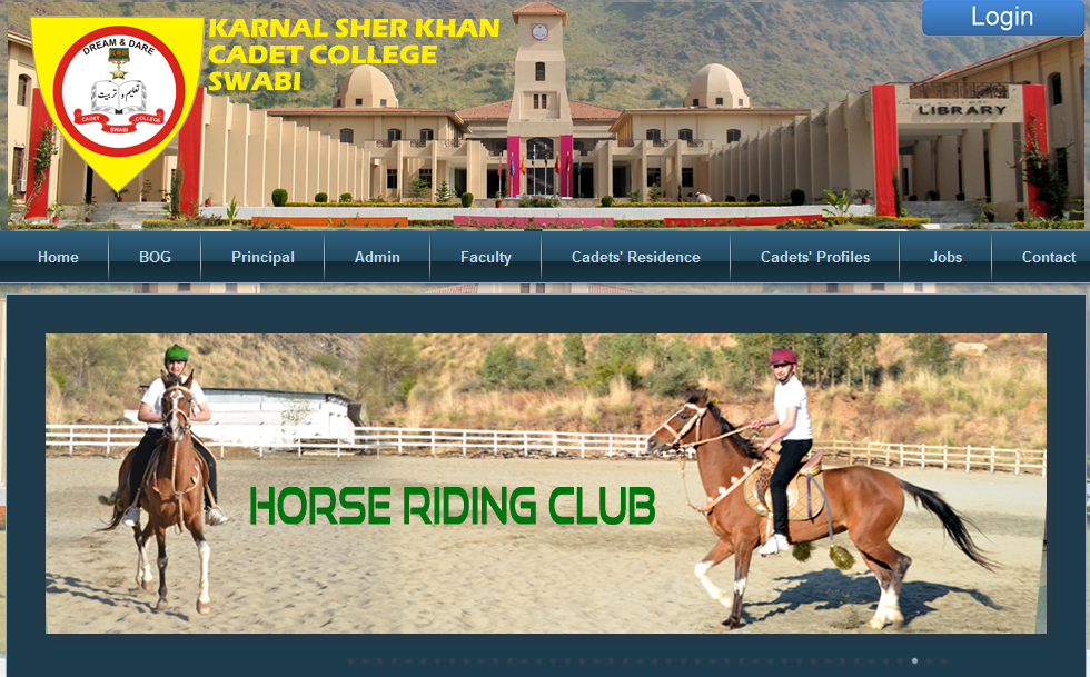 Kernal Sher Khan Cadet College, Swabi, Pakistan