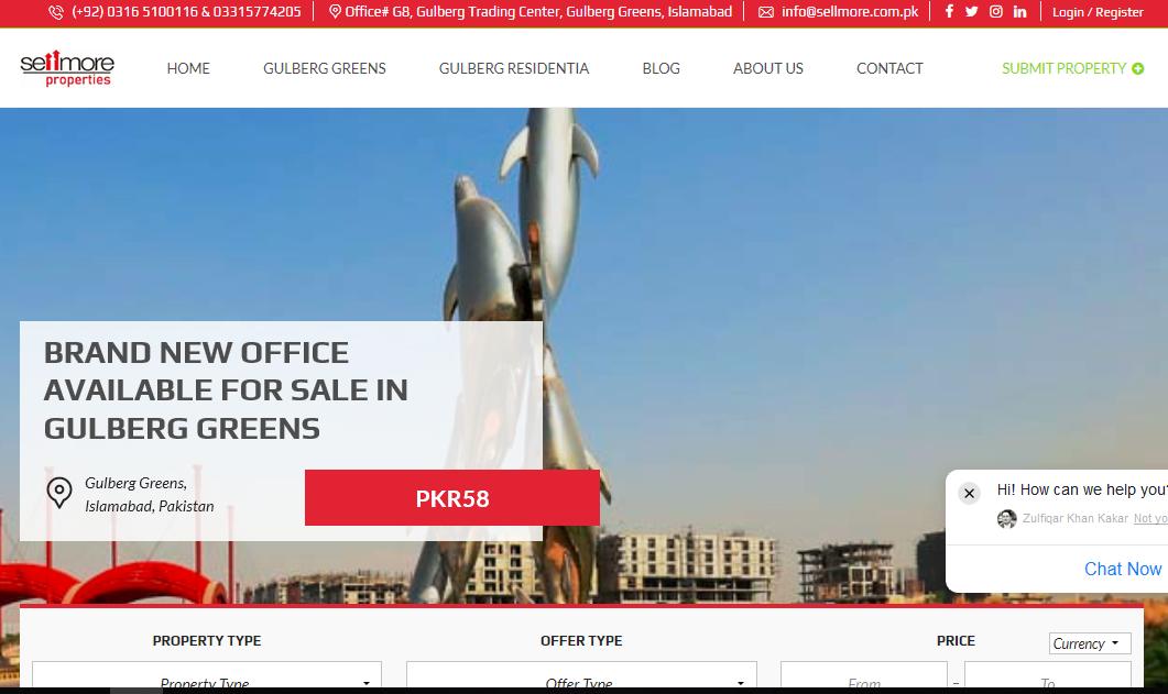 Sellmore Properties – Real Estate Agency, Islamabad