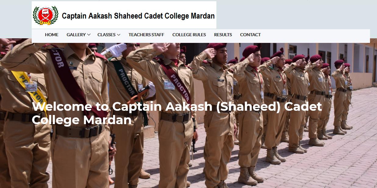 Captain Aakash Cadet College, Mardan