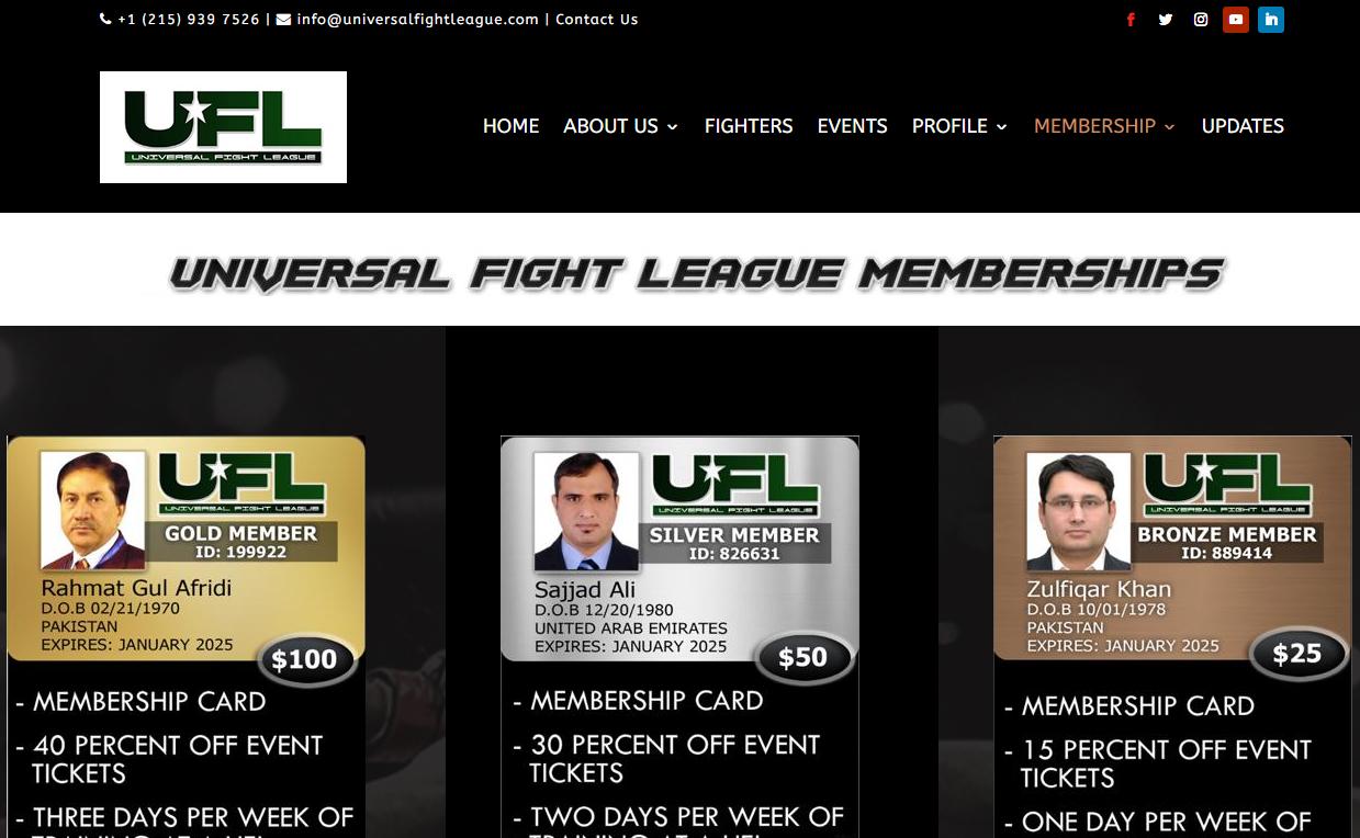 Universal Fight League UFL